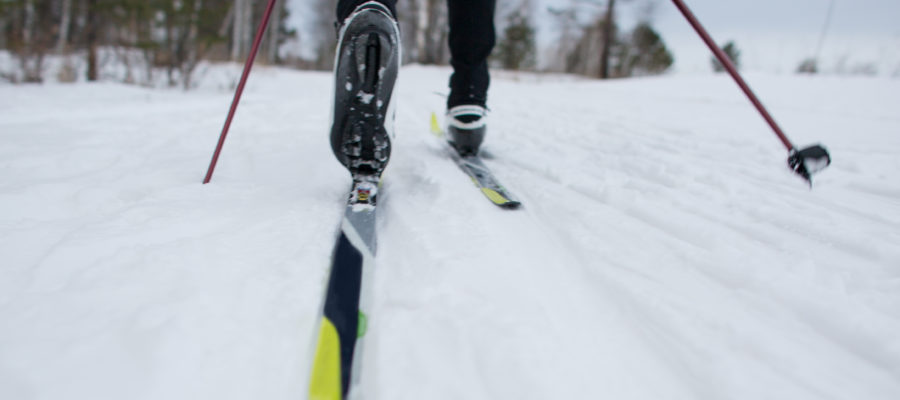 cross country skiing planet
