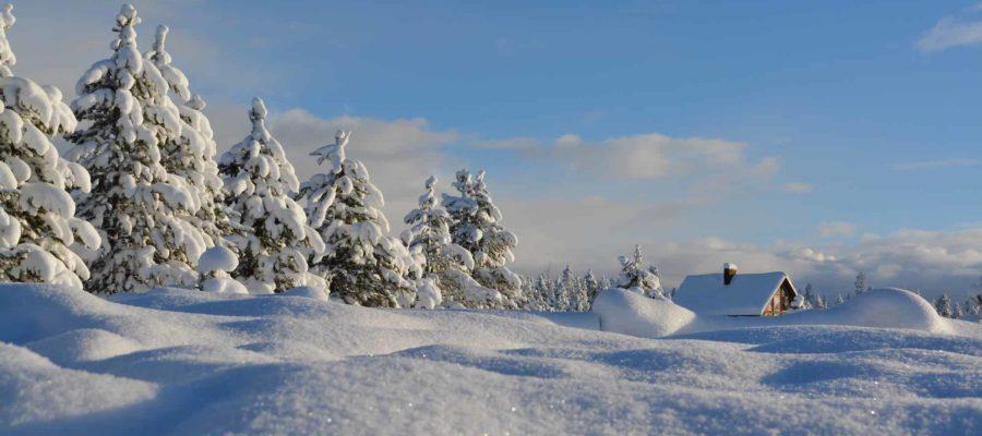 Cross-Country Skiing in Gunstock Mountain Resort, New Hamphire